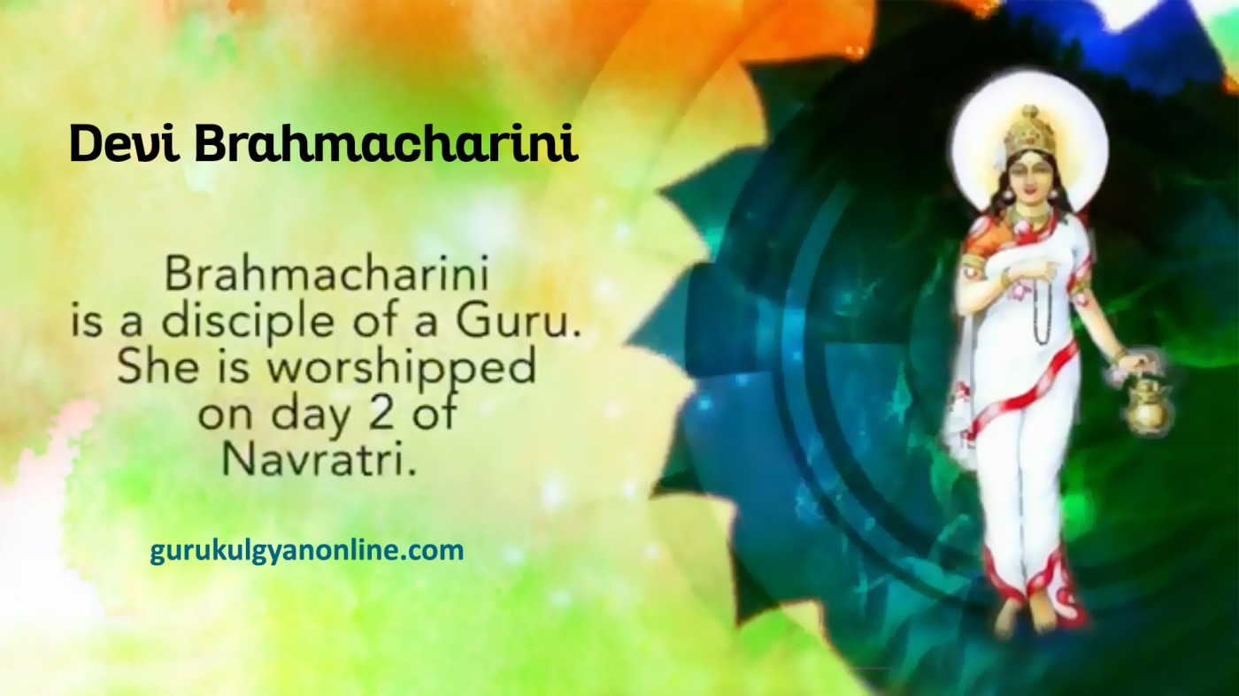 Navratri day 2 - Goddess Brahmacharini is the second incarnation of Devi Durga