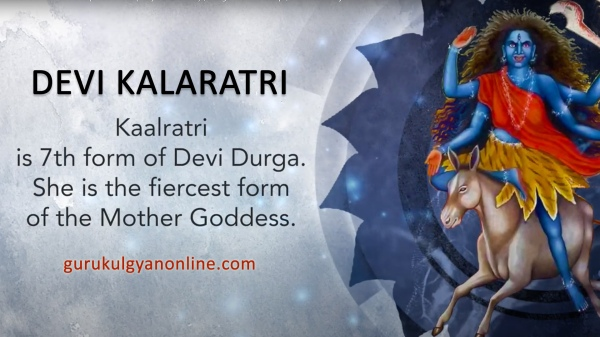 Kalaratri - The Seventh Form Of Navdurga Worshipped On Navratri