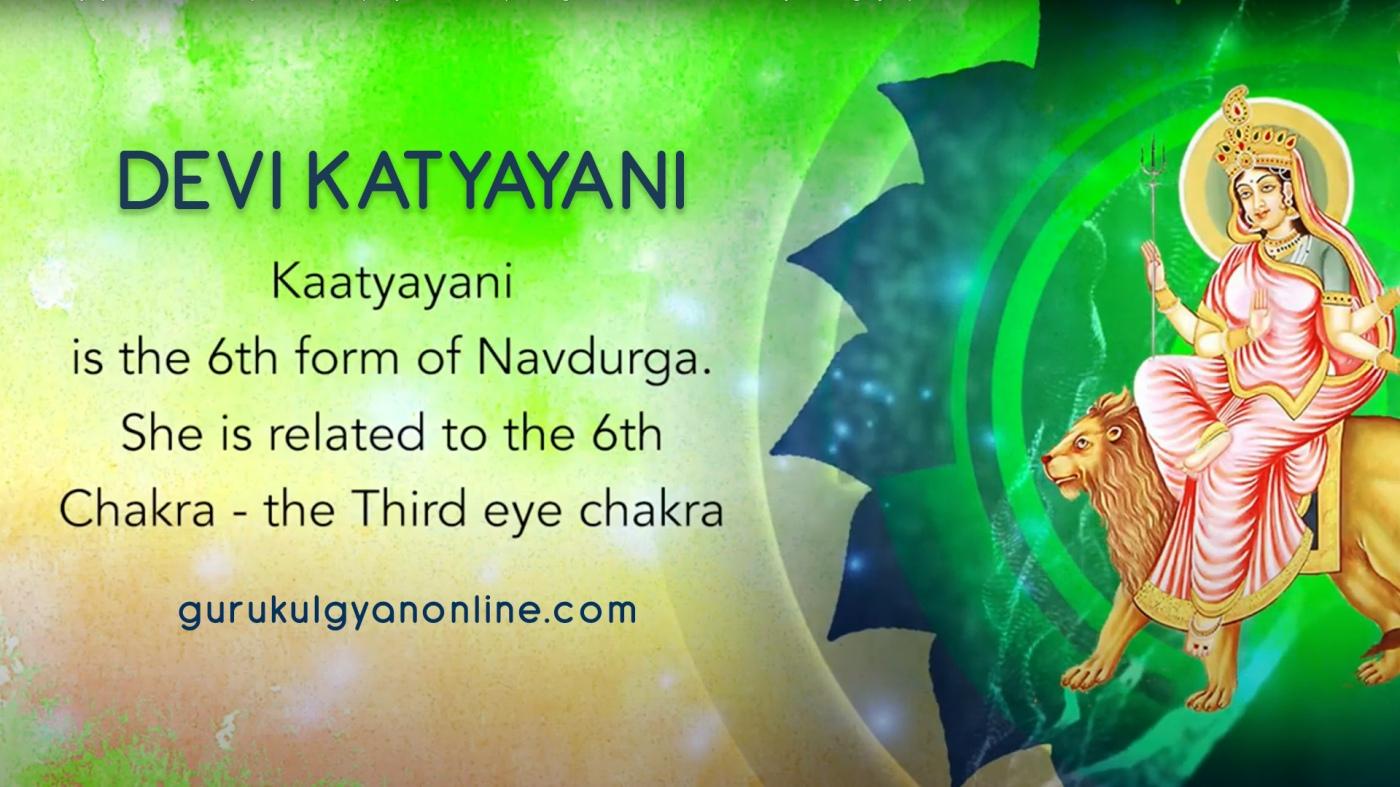 Navratri Day 6 - Navdurga Katyayani