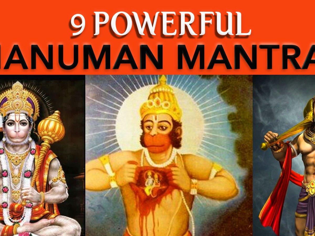 Nine Powerful and Effective Hanuman Mantra